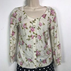 Akulani Floral Sweater Retro Med EUC